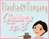 I made the Top 3 at Claudia & Co.