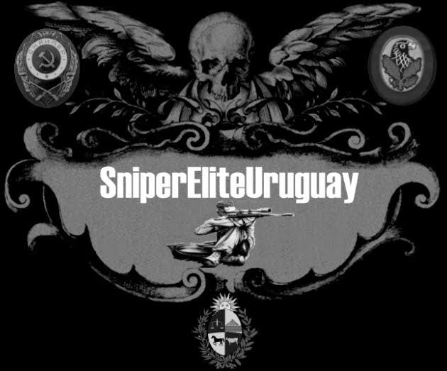 Volvio SNIPER ELITE URUGUAY!!! LOGO+SEU