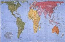 Mapa de Peter
