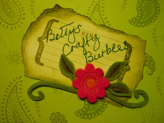 Betty's crafty burbles