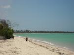 Praia muito limpa