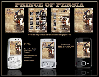 Prince Of Persia S60V3 fp1,fp2 Theme by The Shadow