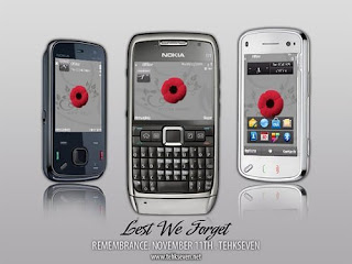 Remembrance 5th Edition Theme,Eseries Theme and Nseries Theme(S60v3 theme)