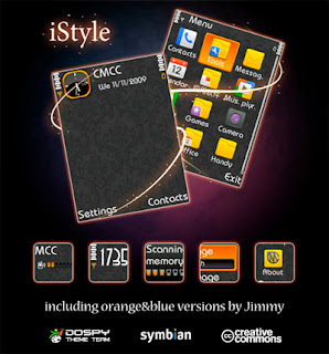 iStyle by Jimmy,nokia s60v3 theme
