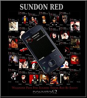 A SunDon Red Theme by sunny for free nokia theme