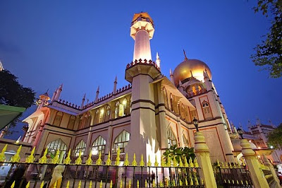 most beautiful mosques in the world sultan mosque singapore - Top 10 Most Beautiful Mosques in The World