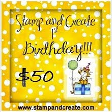 Stamp and Create Birthday Candy