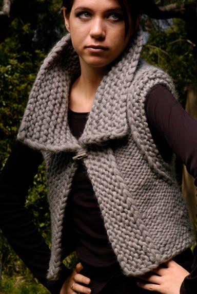 Simple Vest Knitting Pattern : Knit 1 LA: pattern possibilities