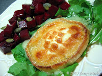 grilled-goats-cheese-and-beetroot-salad