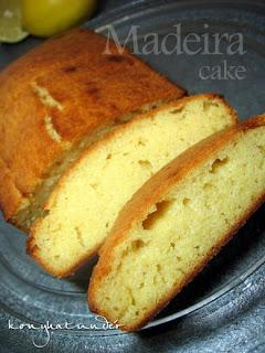 Madeira cake no sugar