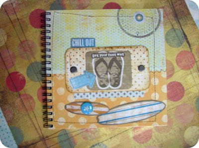 Plażowy scrapbooking