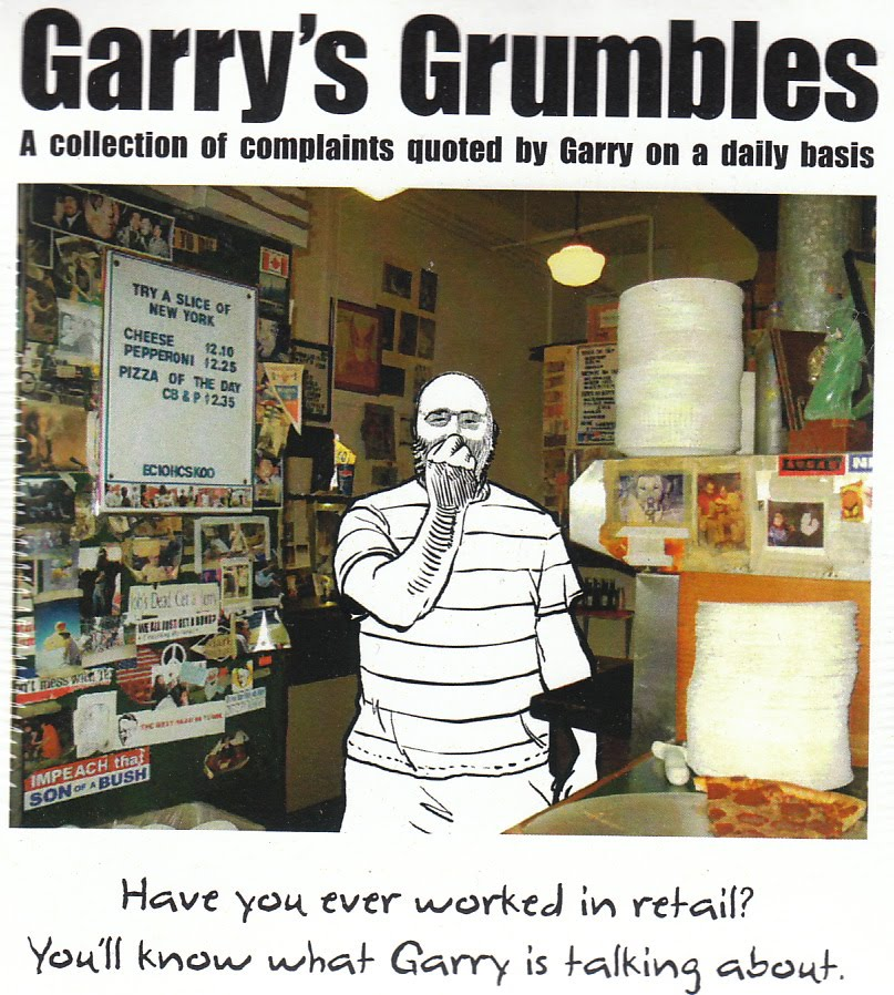 Garry's Grumblog