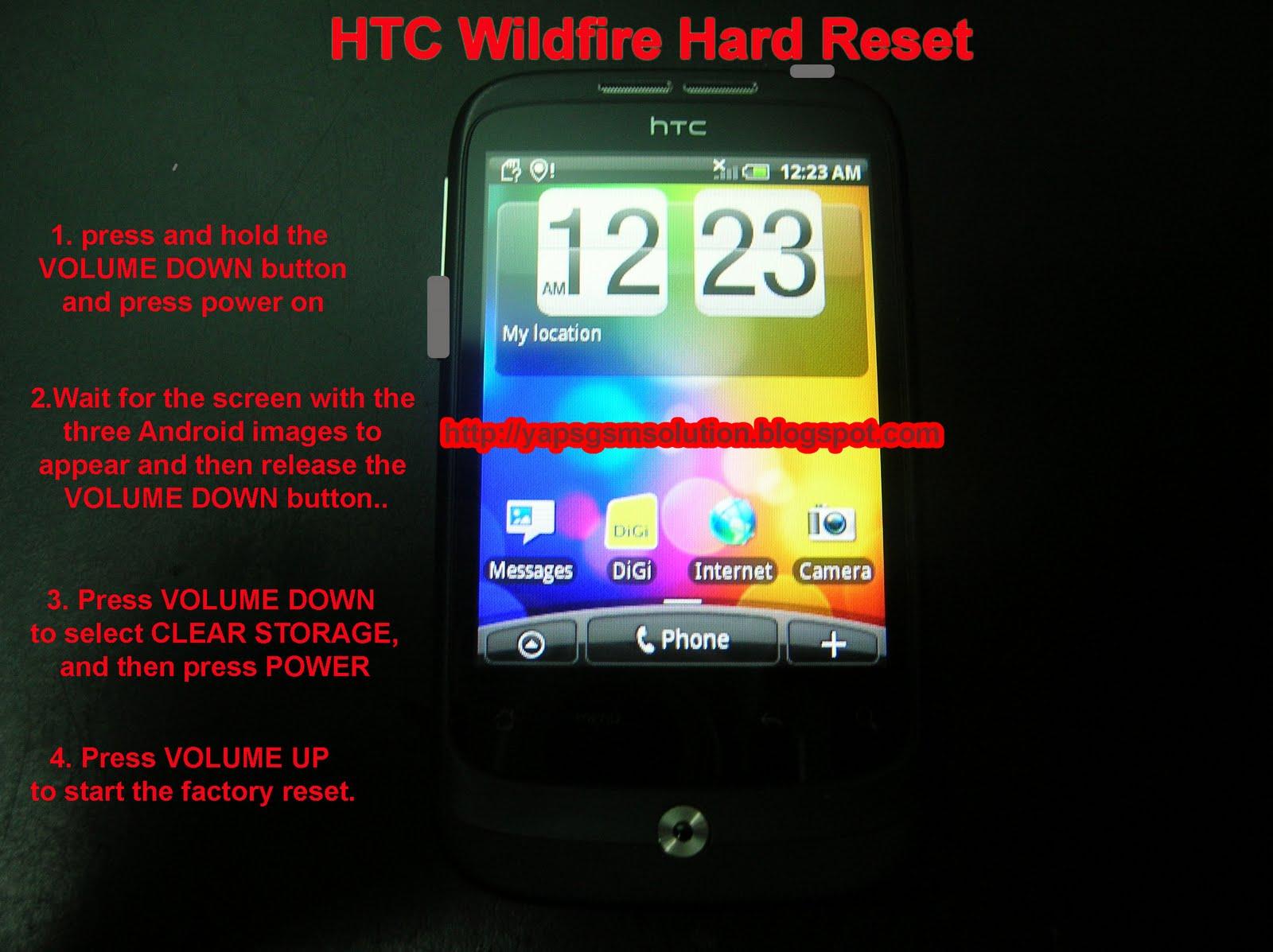 Как сделать Hard Reset на android 25