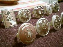 anillos plata cobre
