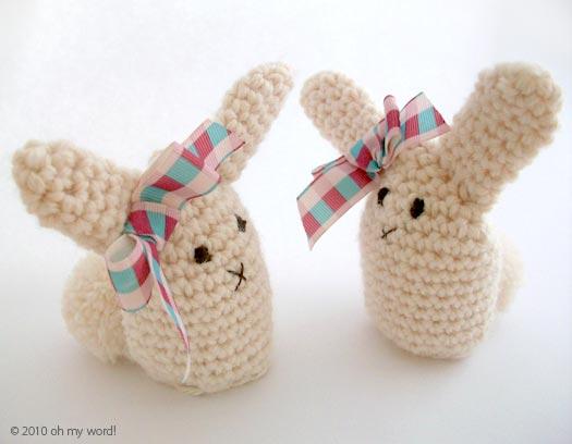 Amigurumi Bunny Egg : 4.05.2010