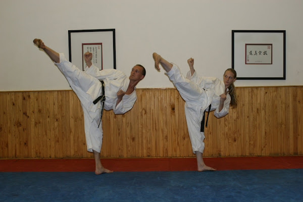 Sherilee & myself at Moreleta Dojo