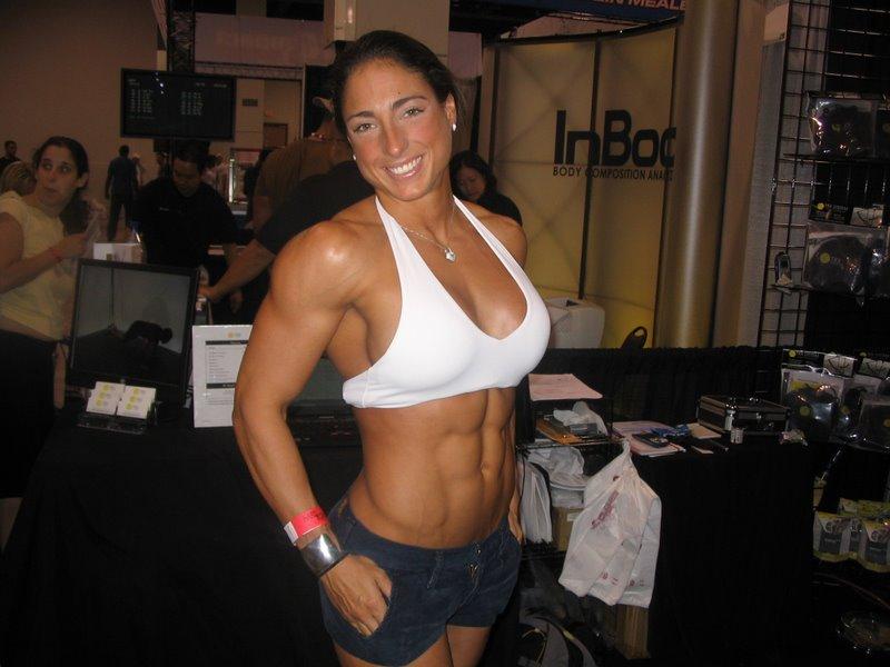 bikini muscle woman