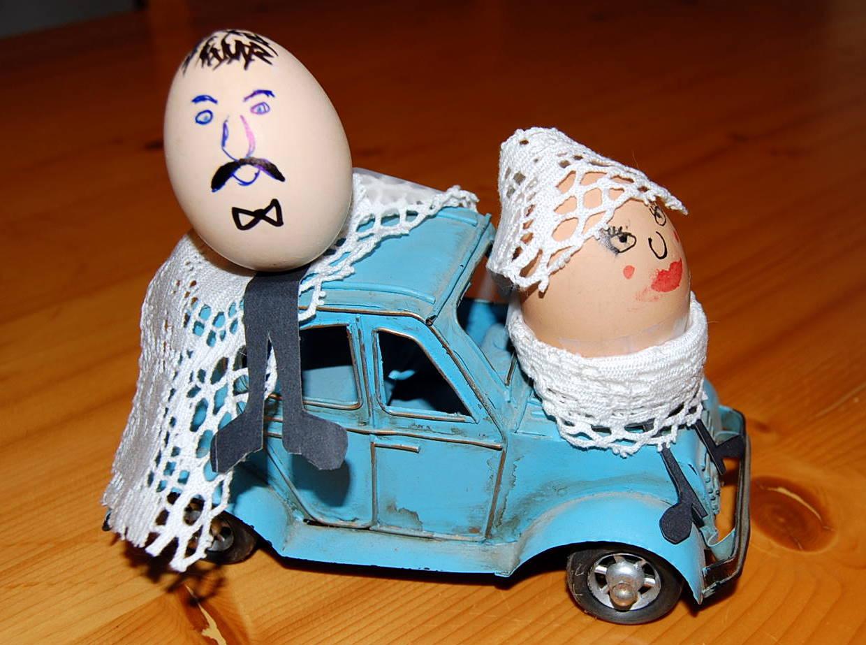 Como vestir a un huevo