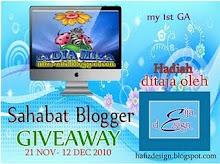 Sahabat Blogger Giveaway