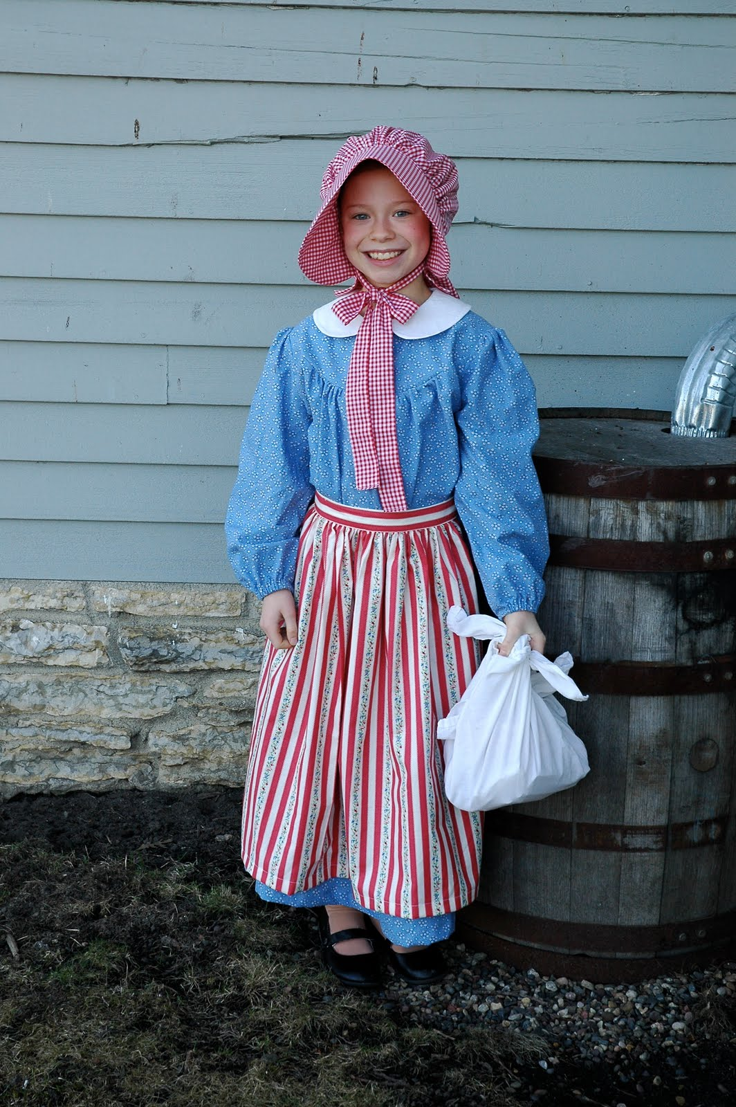 The West Family Pioneer Girl