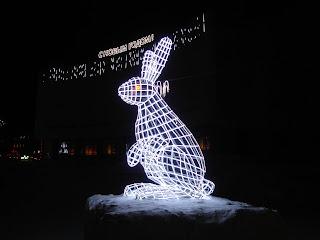 Скульптура Заяц в Норильске