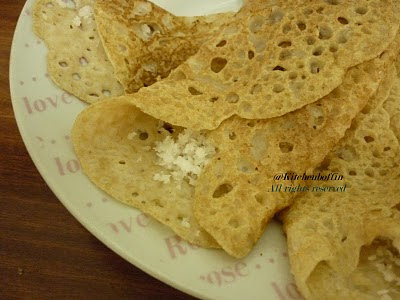 Thenga Palappam(Sweet coconut roll)