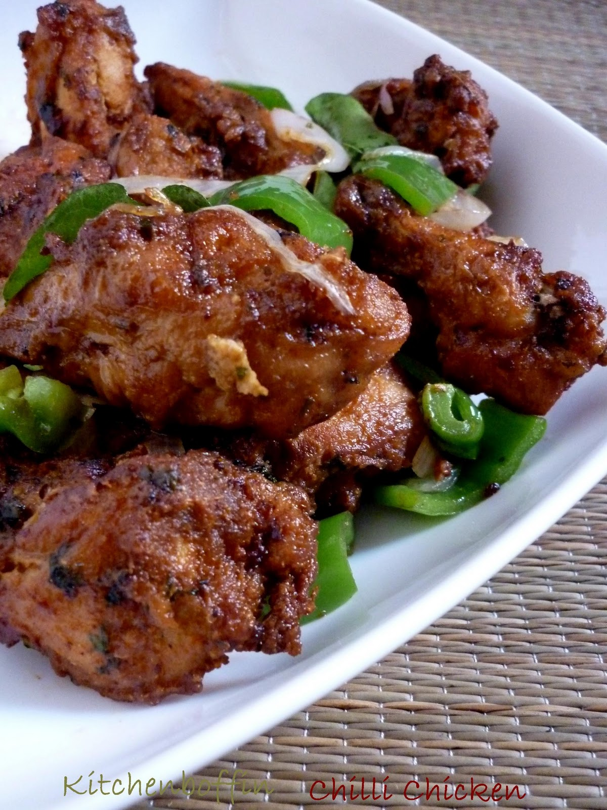 Kitchen Boffin: Chilli Chicken fry