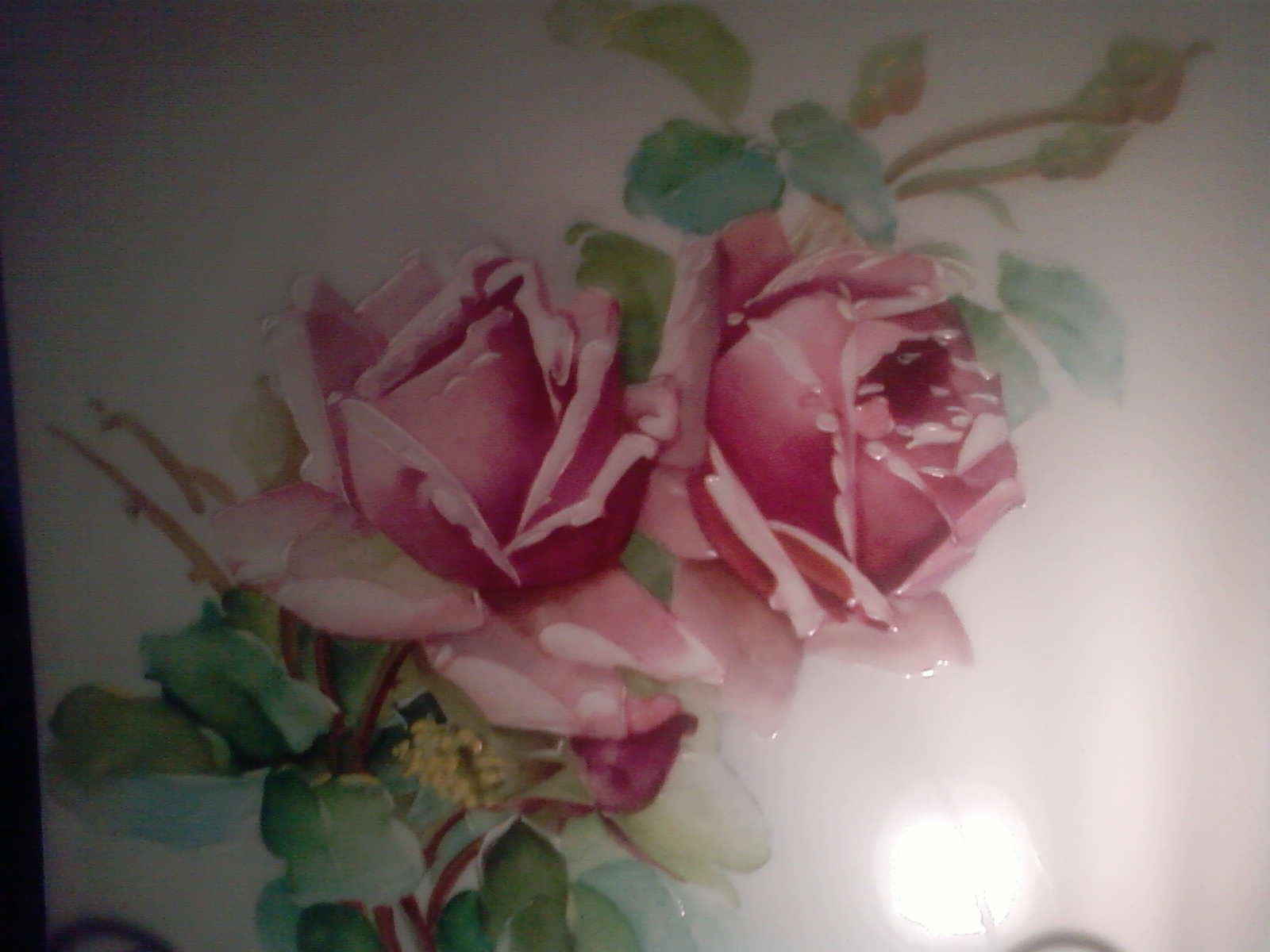 Celialice peinture sur porcelaine sollies toucas for Peindre sur de la peinture
