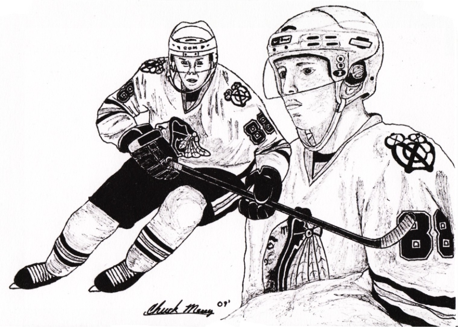 Hockey in art September 2010