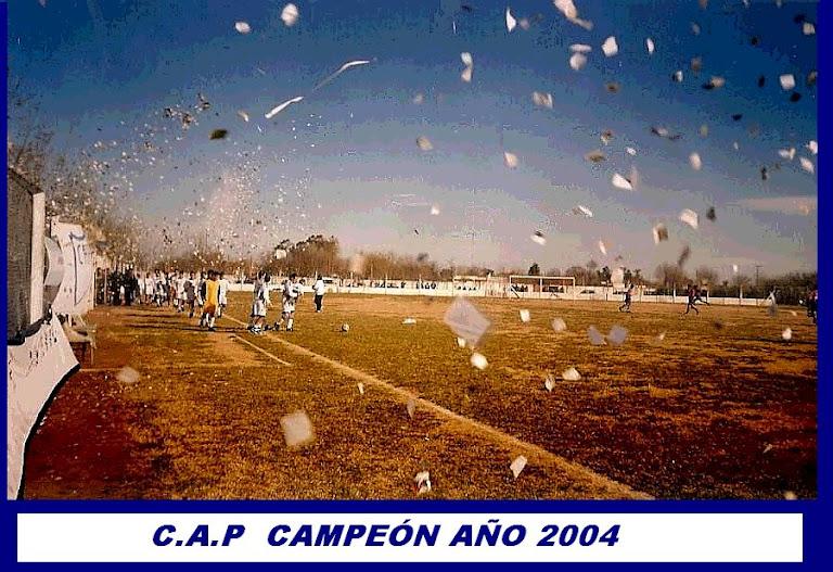 PINTENSE CAMPEÓN 2004