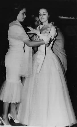 Hilda Salerno. Reina CAP AÑO 1956