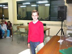 Representante del alumnado en el Consejo Escolar del Colegio.