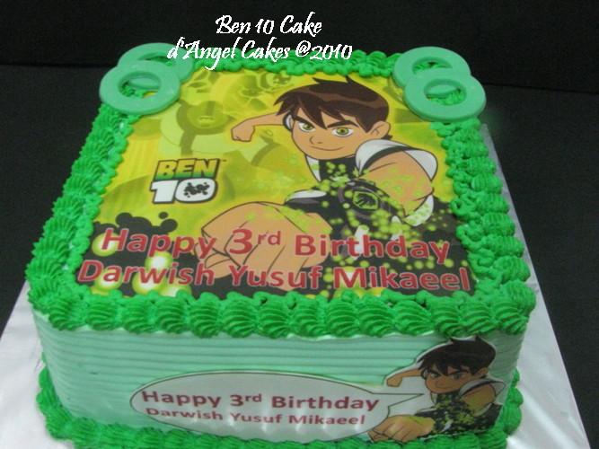 Dangel Cakes Ben 10 Cake