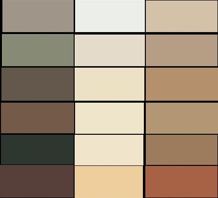 Casas cocinas mueble gama de colores para paredes de - Gama de colores paredes ...