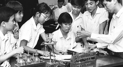 Singapore Science students