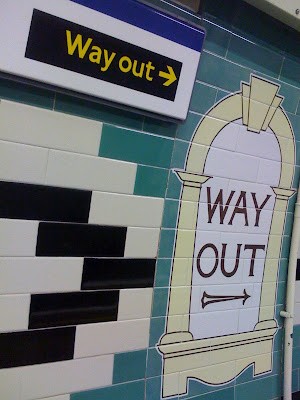wayout+sign+London+Underground+Tube