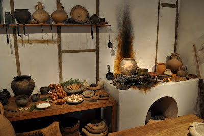 Museum+of+London+Roman+kitchen+display