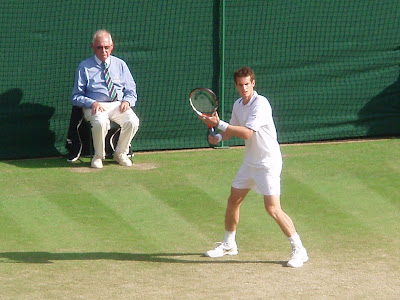 Wimbledon+2009+9+Andy+Murray+Ernests+Gulbis