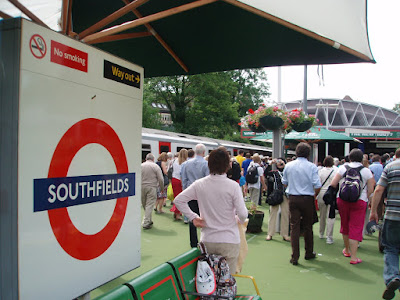 Wimbledon+2009+Southfields+Tube+station