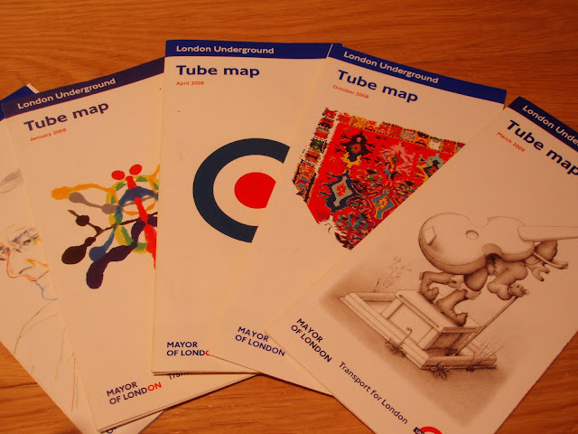 collect+London+Tube+Maps+limited+edition