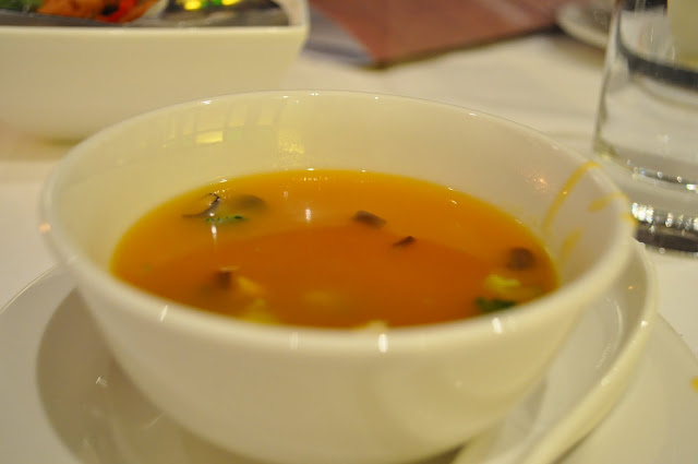 Goldfish+City+Bank+Gresham+Street+review+Chef+special+pumpkin+broth