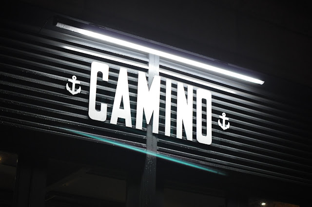 Camino+Canary+Wharf+Westferry+review+signboard