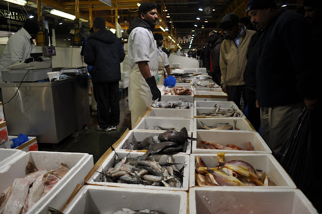 Billingsgate+Market+Canary+Wharf+Docklands+fresh+seafood+fish+in+London