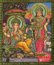 Lakshmi e Ganesha....