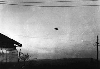 ufo case from the 1950s