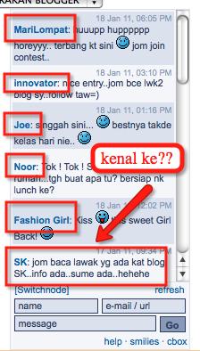 Kempen blogger penipu...