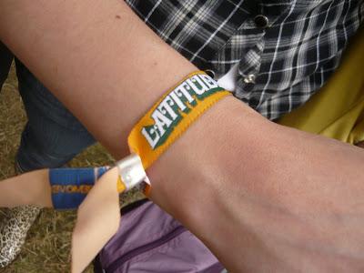 Latitude 2009 wristband