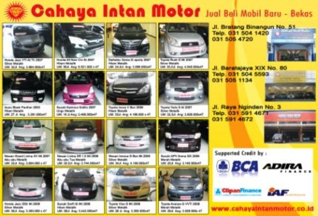 Mobil Bekas Surabaya: menerima mobil tahun 1990-2011 ...