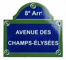 Client mystere épingle les Champs Elysées