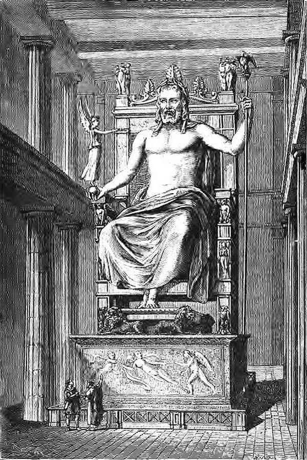Олимпия была священным местом